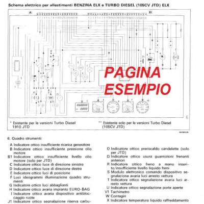 E1604 Manuale officina FIAT PUNTO dal 1999 al 2003 - PDF in INGLESE