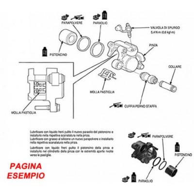 E1805 Manuale officina per Moto Husqvarna TE TC 250 450 510 SM 400-450-510 del 2007