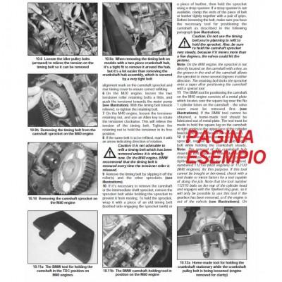 E1613 Manuale officina MERCEDES 200D 240D 300D dal 1976 al 1985 - PDF in INGLESE