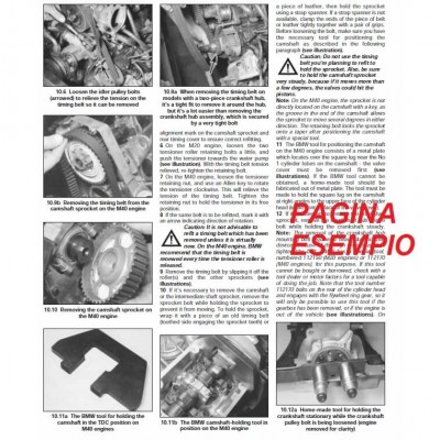 E1628 Manuale officina OPEL FRONTERA dal 1991 al 1998 - PDF in INGLESE