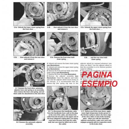 E1601 Manuale officina CITROEN XSARA PICASSO dal 2000 al 2002 - PDF in INGLESE