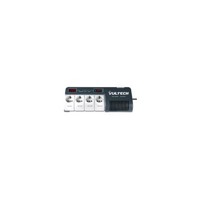 VULTECH STABILIZZATORE DI TENSIONE AVR 1000VA 4 SCHUKO LCD