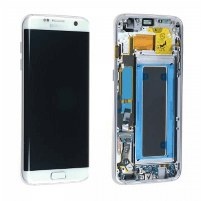 DISPLAY SAMSUNG S7 EDGE G935F WHITE GH97-18533D
