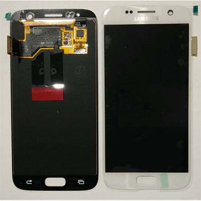 DISPLAY SAMSUNG S7 G930 WHITE GH97-18523D