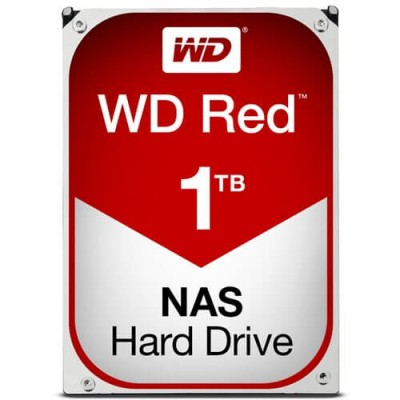 "HDD HARD DISK 3,5"" 1TB 1000GB WESTERN DIGITAL RED WD WD10EFRX"