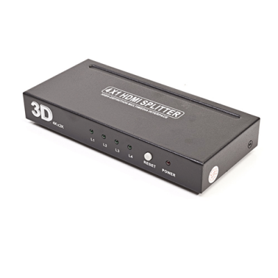 MACH POWER HDMI SWITCH V1.4 FULL HD 4IN/1OUT 3D 4Kx2K CON TELECOMANDO