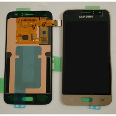 DISPLAY SAMSUNG J1 2016 J120 GOLD GH97-18224B