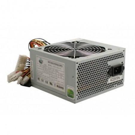 ALIMENTATORE ATX 500W CON VENTOLA 12CM MACH POWER PSU-500-SIL