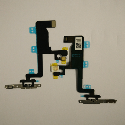 FLAT TASTI ACCENSIONE + FLASH + MICROFONO SUPERIORE CON SUPPORTO IN METALLO PER IPHONE 6 APL-0089