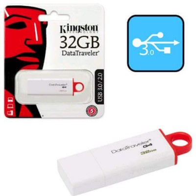 PENDRIVE USB Flash 32GB Kingston DTI-G4 USB 3.0