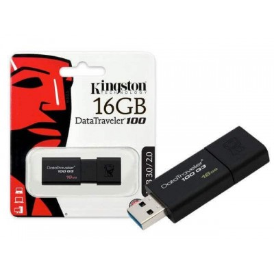 PENDRIVE USB Flash 16GB Kingston DT100G3/16GB USB 3.0