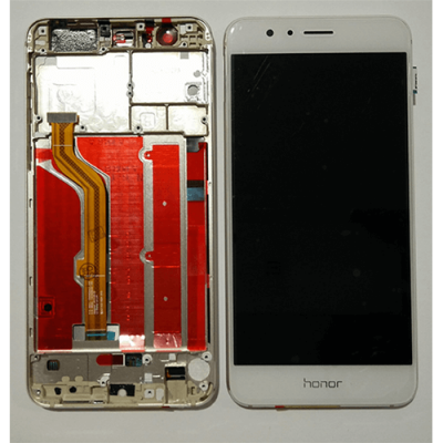 DISPLAY HUAWEI HONOR 8 WHITE CON FRAME HWI-0069