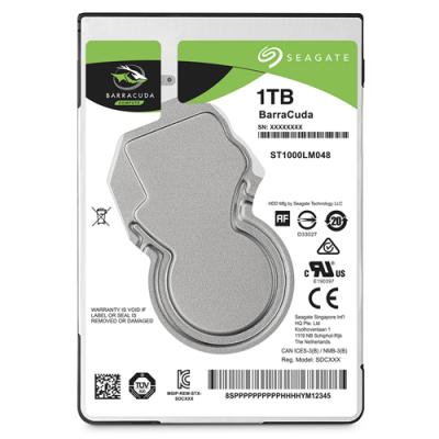 "HDD HARD DISK 2,5"" 1000GB 1TB SEAGATE ST1000LM048"