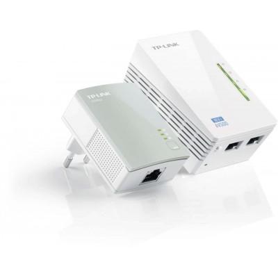 STARTER KIT POWERLINE AV500 WIRELESS N 300MBPS 2*ETHERNET TP-LINK TL-WPA4220KIT