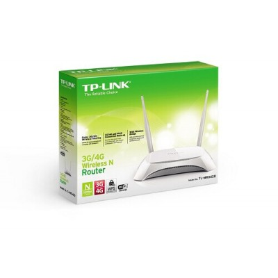 ROUTER 3G/4G WIRELESS N 300MBPS 4*ETHERNET 1*WAN 1*USB TP-LINK TL-MR3420