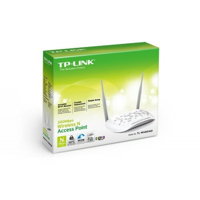 ACCESS POINT WIRELESS N 300MBPS 1*ETHERNET POE TP-LINK TL-WA801ND