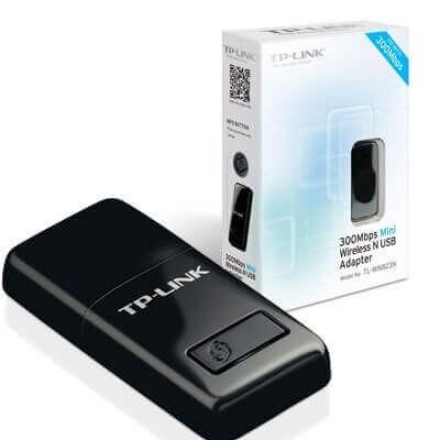 MINI SCHEDA DI RETE WIRELESS N 300MBPS USB TP-LINK TL-WN823N