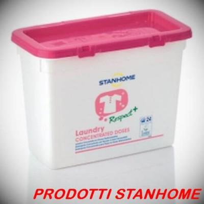 Stanhome LAUNDRY CONCEDOSES 24 dosi Detergente concentrato bucato dosi  21 gr