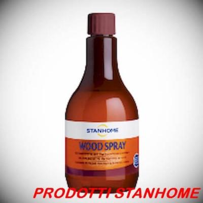 Stanhome WOOD SPRAY 500 ml Pulitore protettivo per legni int ed est - Ricarica