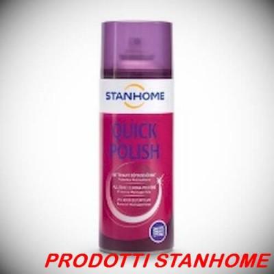 Stanhome QUICK POLISH 400 ml Pulitore Elimina-Polvere Protettore Multisuperficie