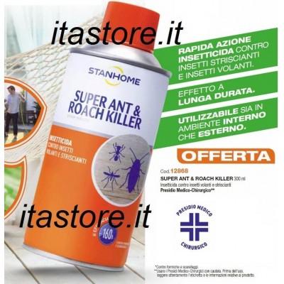 Stanhome SUPER ANT&ROACH KILLER 300 ml Insetticida contro insetti