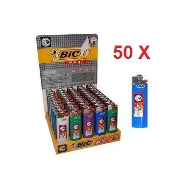 50 Accendini Bic maxi in confezione