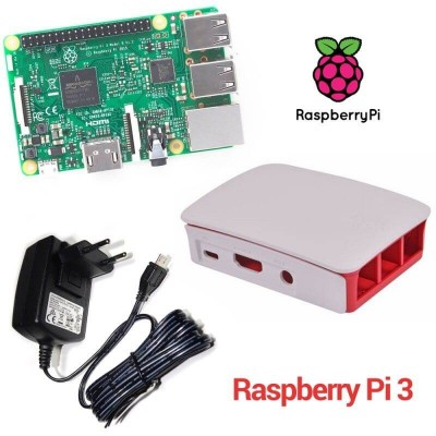 Raspberry Pi 3 Model B (1GB) Official Basic Starter Kit (E01)