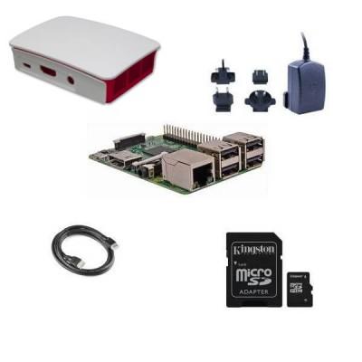 Raspberry Pi 3  Model B (1GB) 16GB NOOBS Starter Kit (E13)