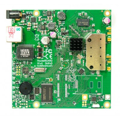 MIKROTIK ROUTERBOARD RB911G-5HPnD - Wireless Access Point, 1xLAN, 5Ghz RouterOS Lv.3