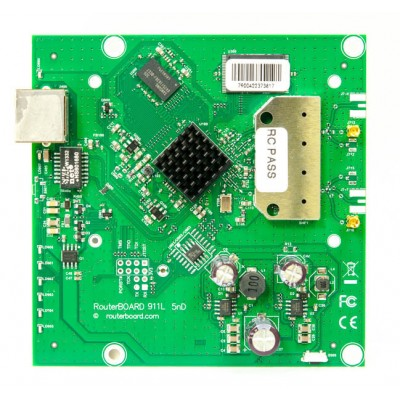 MIKROTIK ROUTERBOARD 911 Lite5 dual  RB911-5HnD - Wireless Access Point, 1xLAN, 5Ghz RouterOS Lv.3