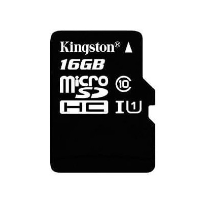 MEMORY KINGSTON CARD SDC10G2/16GB MICRO 16GB con immagine NOOBS precaricata