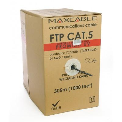 Cavo FTP (cu/Al) 305MT cat.5E MATASSA ESTERNO UV