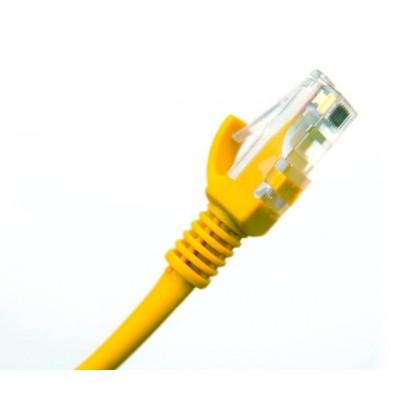 Cavo UTP PatchCord 2 Metri  cat.5e colore giallo