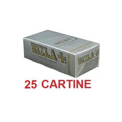 25 confezioni di Cartine Rizla silver corta doppia per sigarette