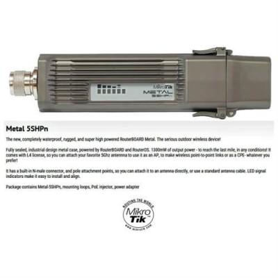MikroTik RouterBOARD  Metal 5 RBMetal5SHPn
