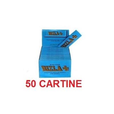 50 confezioni di Cartine Rizla KS blu per sigarette