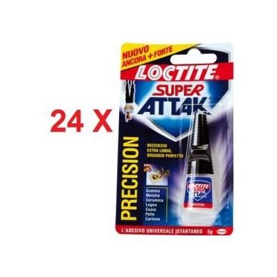 24 confezioni Attak g5 5 grammi colla istantanea