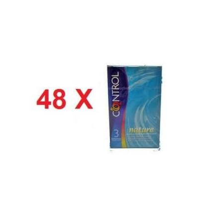 144 profilattici Control nature in 48 confezioni da 3 pezzi