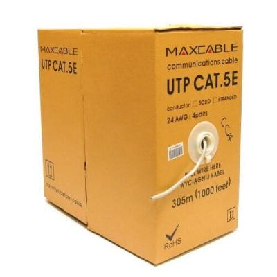 Cavo UTP Maxcable, cat.5e, 305m, CCA