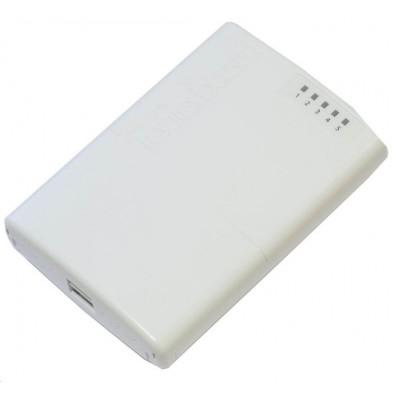 MIKROTIK ROUTERBOARD RB750P-PBr2 PowerBox - 5xLAN,  RouterOS Lv.4