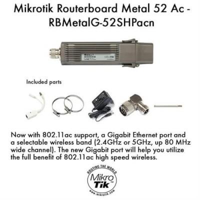 MikroTik RouterBOARD  Metal 52 ac RBMetalG-52SHPacn