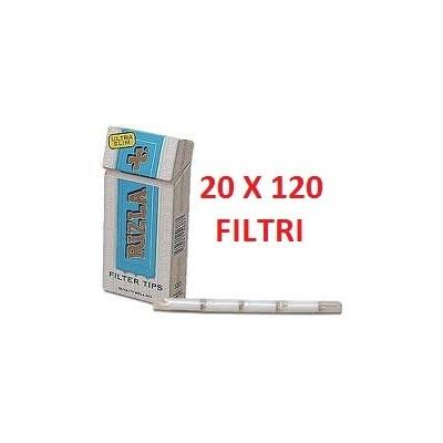 2400 Filtri ultra slim 5.7 mm Rizla in 20 confezioni / astucci da 120 pezzi