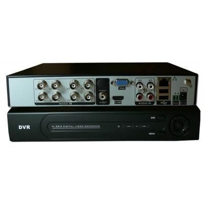 Videoregistratore digitale ibrido - DVR 8008 H