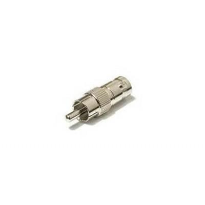 Adattatore BNC  - Plug BNC-RCA Maschio-Maschio