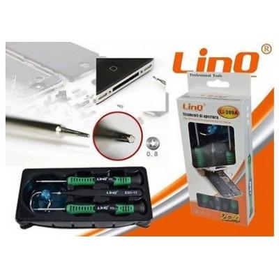 KIT DI ATTREZZI STRUMENTI PER RIPARAZIONE IPHONE 3 4 4S 5 5S 5C 6 6 plus LINQ Li-289A