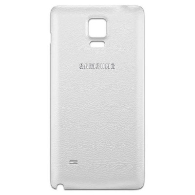 BACK COVER SAMSUNG NOTE 4 N910F WHITE