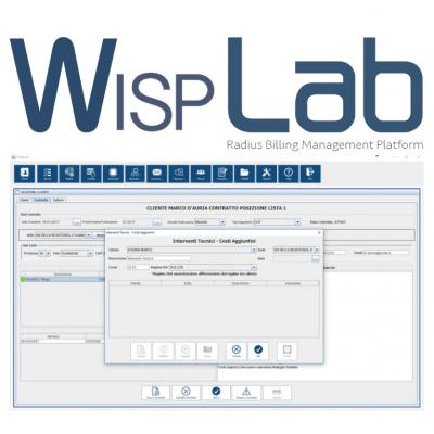 WISPLAB BASE piattaforma di gestione dedicata a ISP/WISP