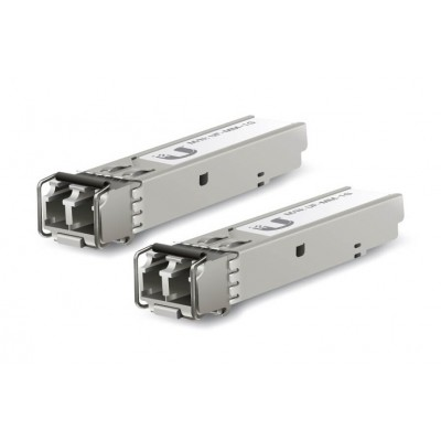 Ubiquiti SFP 1,25G, MM LC 550m Dual-Fiber 850nm 2-pack  UF-MM-1G