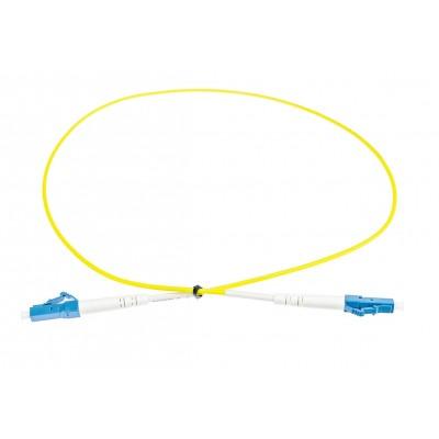 Fibra ottica Patchcord LC/UPC-LC/UPC SM simplex 2mm 0.5m G657A1 OP-LCU-LCU-SM-SX-05A
