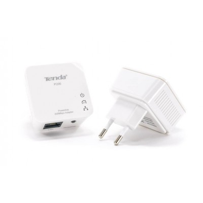 TENDA P200-KIT 200MBPS MINI POWERLINE ADATTATORE HomePlug AV 2 PEZZI